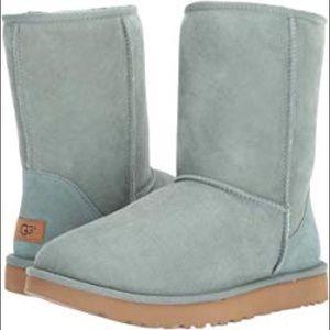 Ugg Mint Classic Short Faux Fur Lined Boots Sz 7